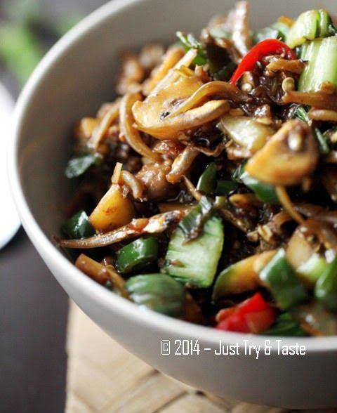 Just Try & Taste: Si Penambah Nafsu Makan - Sambal Teri Cabai Hijau