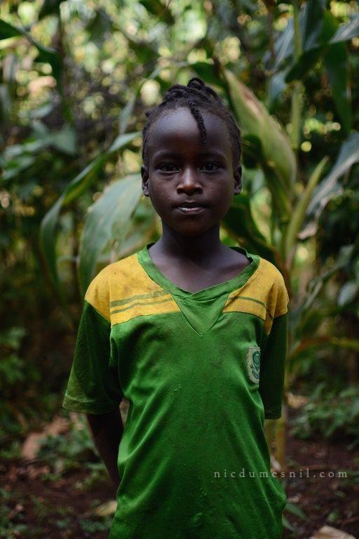 Konzo girl, Ethiopia, Africa. More at www.nicdumesnil.com