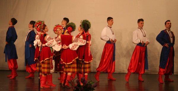"""Festivalul aniversar de tradiții ucrainene """"200 de ani de la nașterea lui Taras Șevcenko"""""""