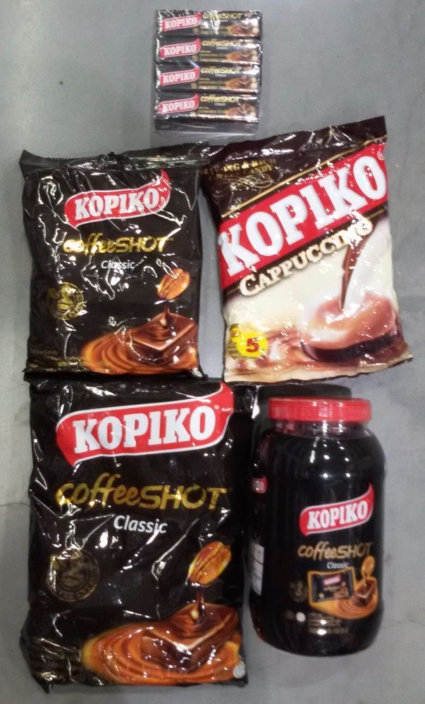 KOPIKO REAL COFFEE CANDY SWEETS STRONG HARD CANDY 27/54/108/216 gram sizes avail…