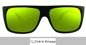 Justin Sport Sunglasses - 182 Black/Yellow