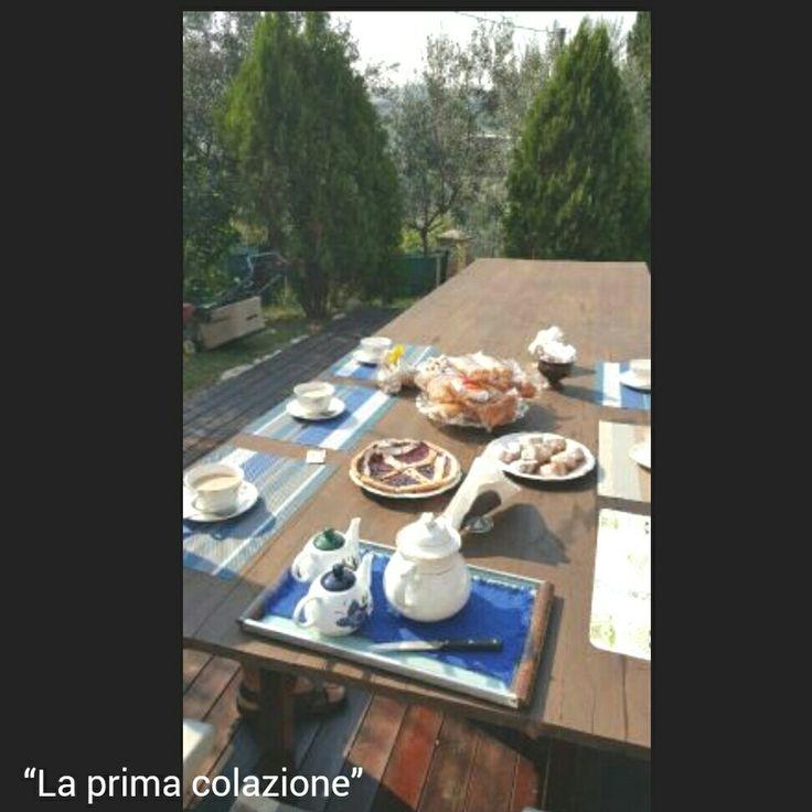 #colazione all'aperto