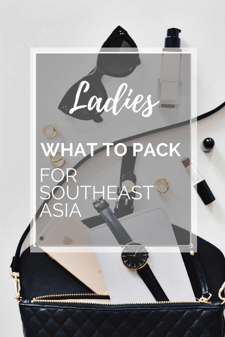 What to pack (and what to leave at home!) for your trip to Southeast Asia