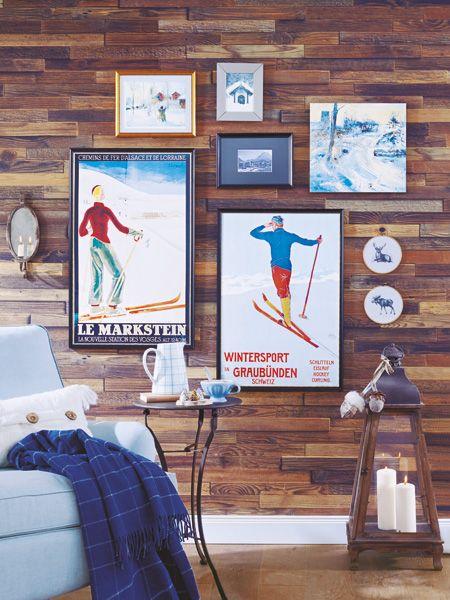 wohnideen im winter so wird es warm und gem tlich winter pinterest reichlich bilderwand. Black Bedroom Furniture Sets. Home Design Ideas