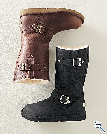 I don't think I look cute in Ugg boots...but I think this would fit my style so much better.