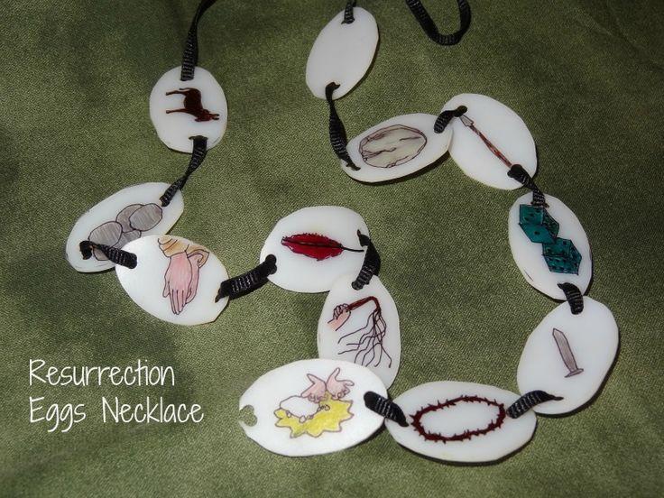 Resurrection Eggs necklace
