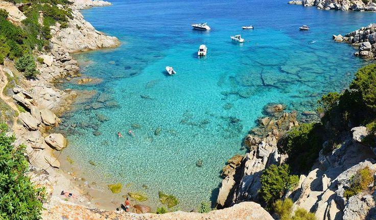 Cala Spinosa, Santa Teresa Gallura in Sardinia
