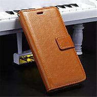 Varten iPhone 5 kotelo Lomapkko / Korttikotelo / Tuella / Flip / Magneetti Etui Kokonaan peittävä Etui Yksivärinen Kova TekonahkaiPhone – EUR € 9.79