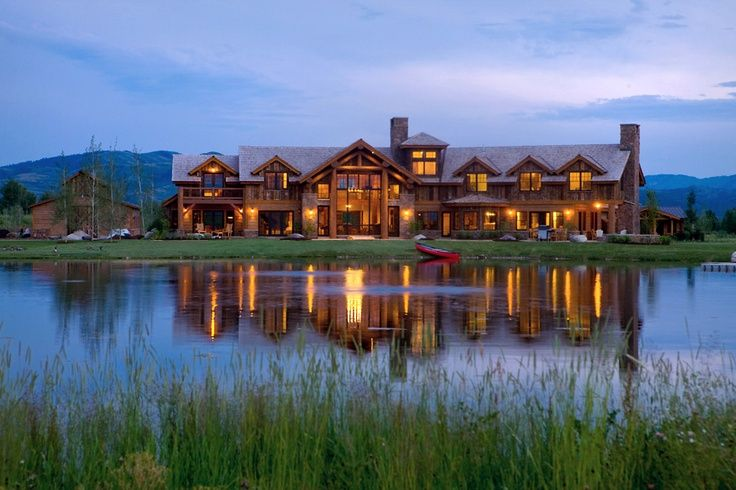 78 images about ranch home on pinterest jackson hole for Wyoming home builders