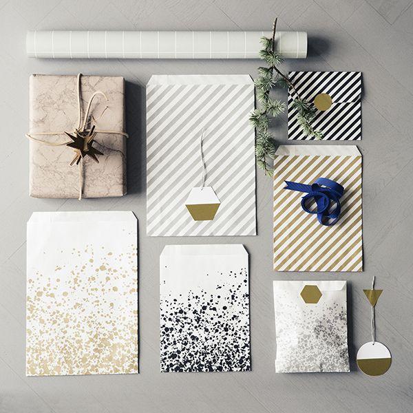 Top 5 Scandinavian Christmas gift Wrapping Ideas