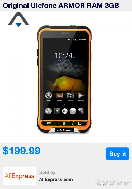 Original Ulefone ARMOR RAM 3GB ROM 32GB mobilephone Octa Core 4.7 inch Battery 3500mAh 720P HD Android 6.0 celular with NFC * Pub Date: 12:58 Oct 23 2017