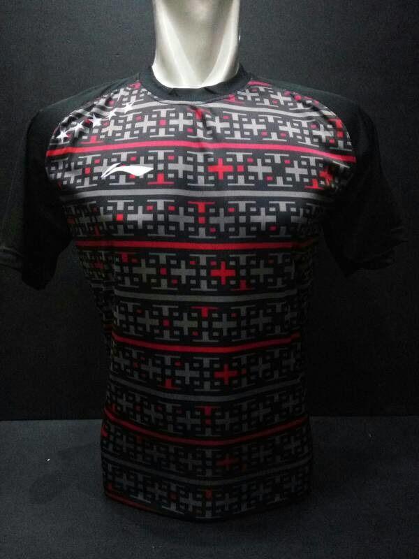 Baju Badminton / Bulutangkis LiNing L16 Hitam
