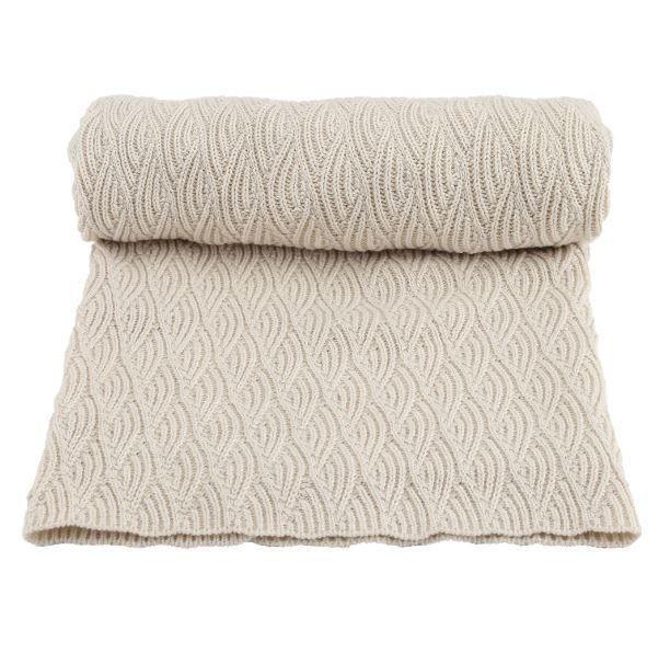 Konges Slojd Organic Cotton Baby Blanket Pointelle Creme In 2020 Organic Cotton Baby Blanket Cotton Baby Blankets Organic Cotton Baby