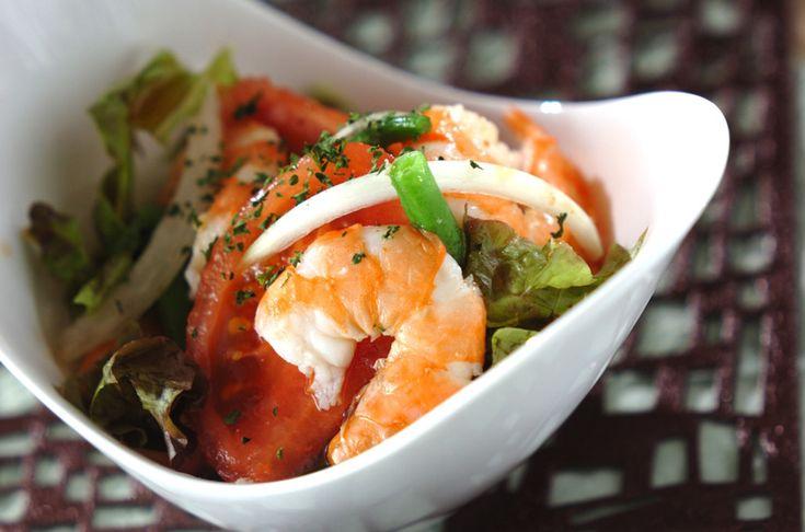 エビサラダのレシピ・作り方 - 簡単プロの料理レシピ | E・レシピ