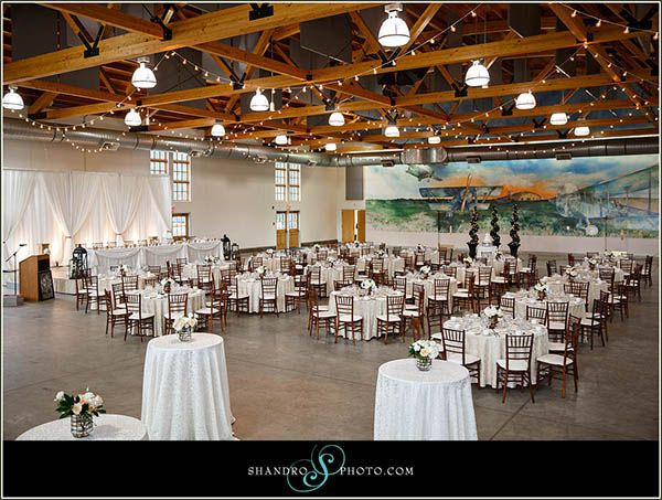 Wedding Gift Ideas Edmonton : Beautiful wedding at #yeg Blatchford Air Hangar. Wedding Designed by ...