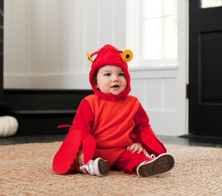Pottery Barn Look-Alikes: Pottery Barn Kids Baby Lobster Costume