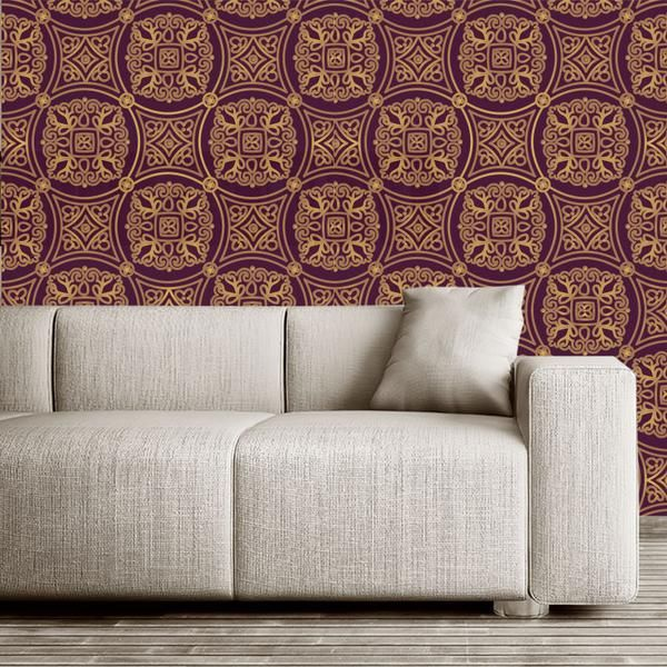 Moroccan removable wallpaper