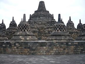 Borobudur Temple is a Buddhist temple located at Borobudur, Magelang, Central Java, Indonesia. The location of the temple is approximately 100 km southwest of Semarang, 86 km to the west of Surakarta, and 40 km northwest of Yogyakarta. Stupa founded by the Mahayana Buddhist temple around 800 BC during the reign of the Sailendra dynasty. …