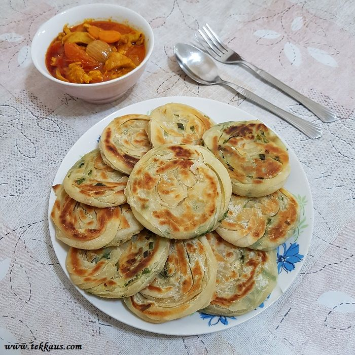 Scallion Pancakes Recipe With Chicken Curry Chicken Recipes Scallion Pancake Recipe Curry Chicken Recipes