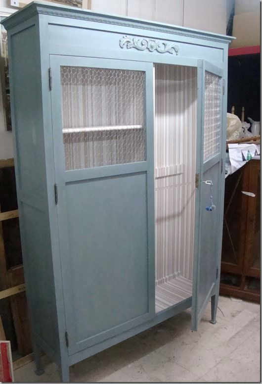 M s de 1000 ideas sobre aparadores pintados en pinterest - Pintar armario de madera ...
