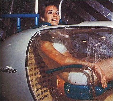 Sanyo Human Washing Machine, 1970