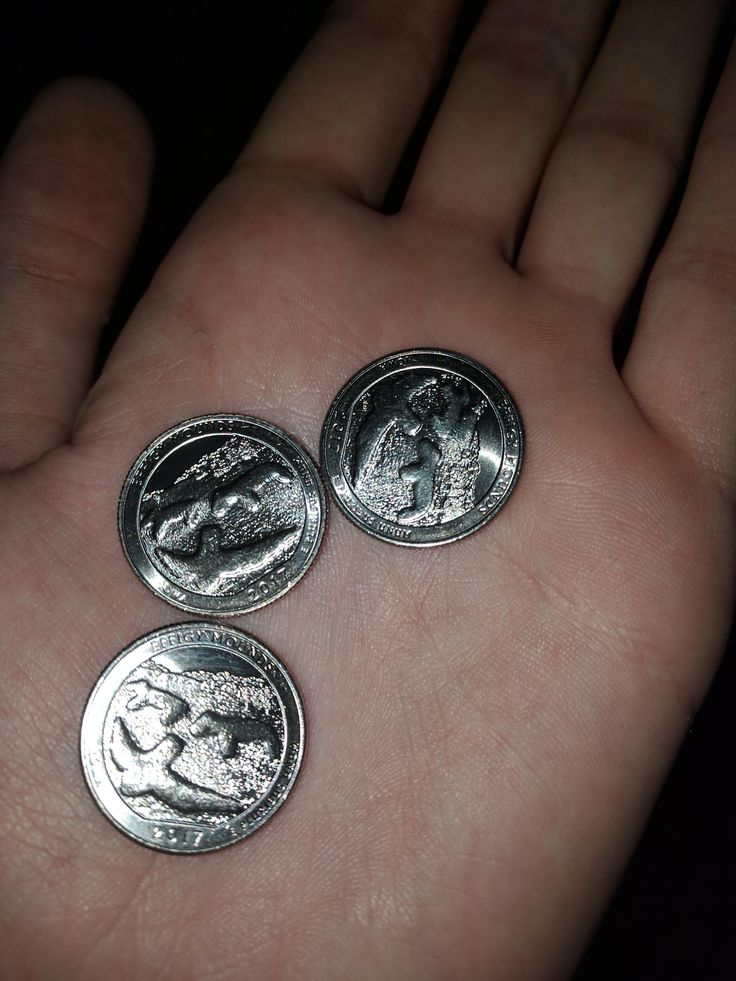 I got 3 of the same quarters back as change after buying food