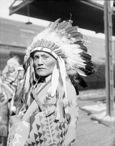 An old photograph of Kee Kensol - Navajo.