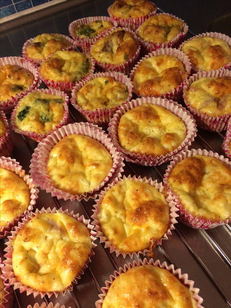 Goda Matiga frukostmuffins. Recept på www.kelfstrobakar.se