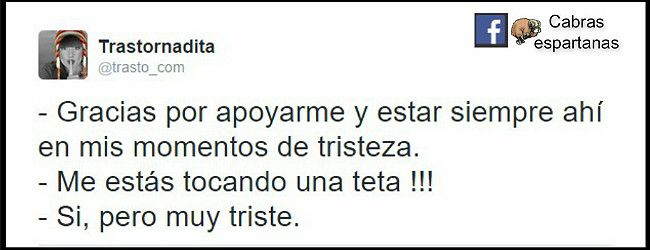 Estoy muy triste by @trasto_com