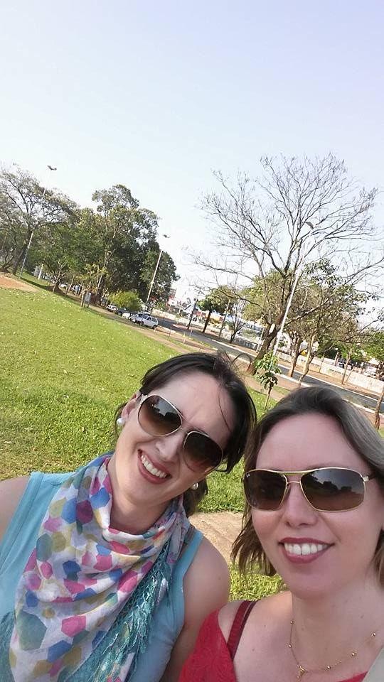 23/09/2015 - Fabiane e Jane #partiuplantio: