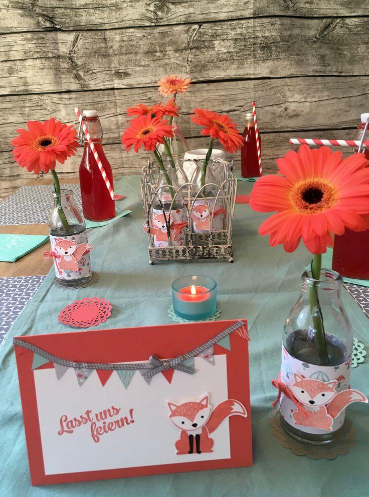 Ausgefuchste Tischdekoration Blumen Basteln Papier