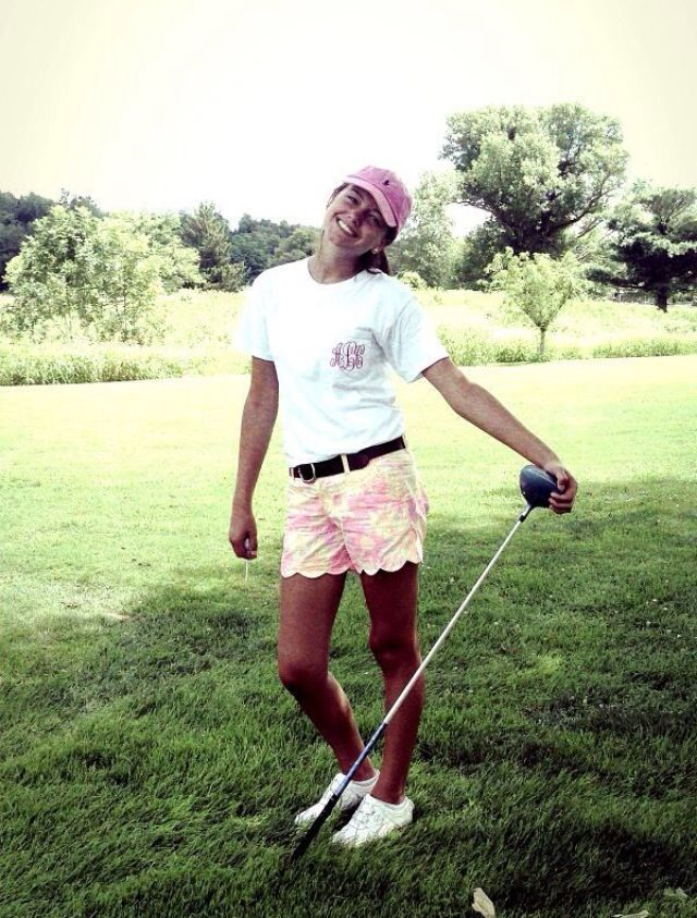 Adorable golf outfit