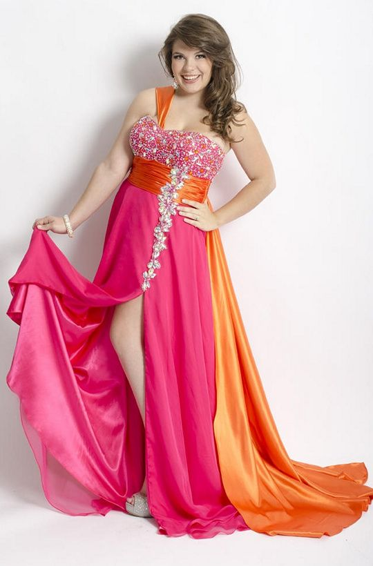 17 best Prom Dresses images on Pinterest | Ball gown, Plus size prom ...