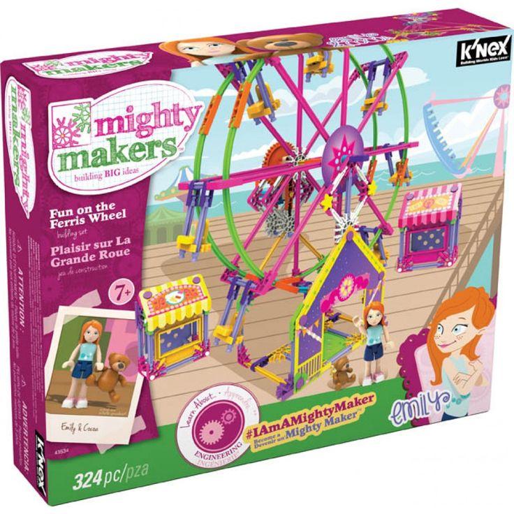 K'NEX Mighty Makers-kul för både stora och små...både att bygga och leka med!