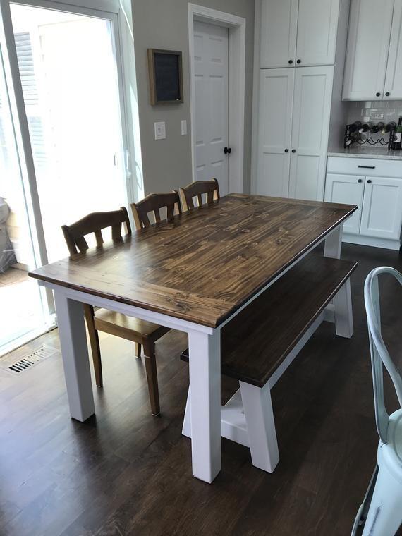 Farmhouse Table In 2020 Farmhouse Table Plans Farmhouse Table