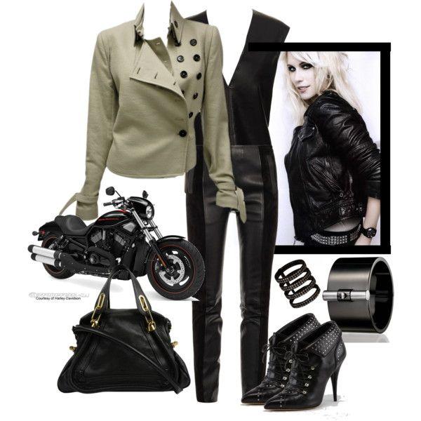 millionaire biker chick