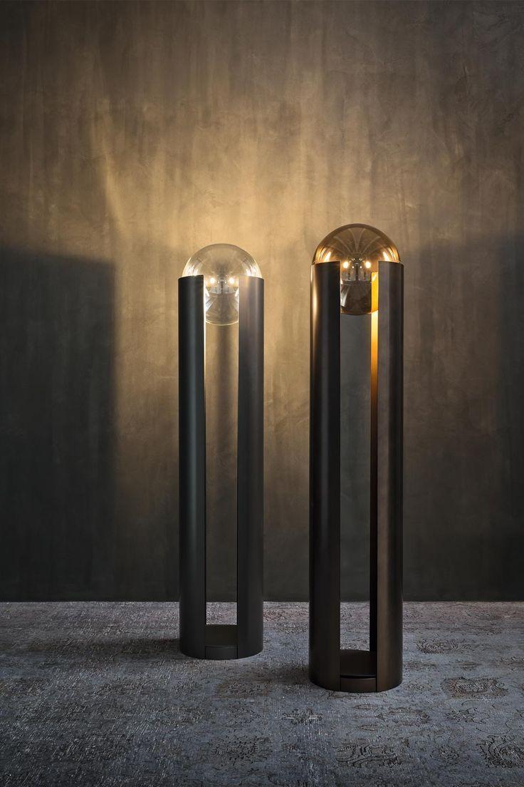 Lampade da terra: per valorizzare con la luce una zona definita - Cose di Casa