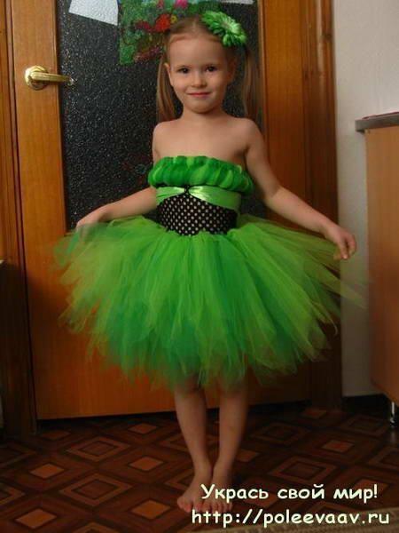 Платье елочка для ребенка