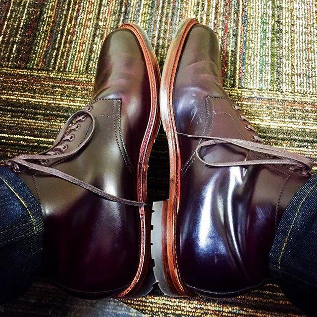 jpm1shoes Alden x @theshoemart Color 8 Shell Cordovan Boot #aldenarmy #aldenboots #aldenshoes #aldenpeople #shellcordovan #shineyourshoes #mensstyle #menswear #mensfashion #horween #horweenleather #handmade #madeinusa #dailylast #denim #shoes #boots #barrielast #selvedge #jeans #theshoemart @horweenleather @nakedandfamousdenim 2017/08/03 06:21:28