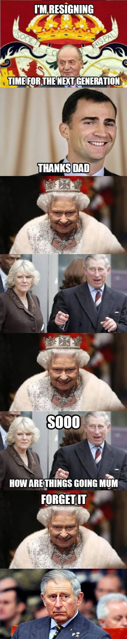 Prince Charles Is Tired To Wait