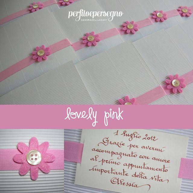 buste portafoto in rosa