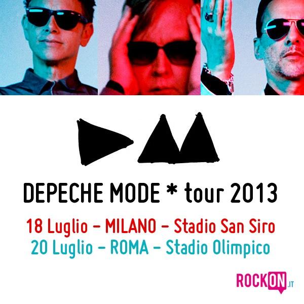I DEPECHE MODE annunciano il tour europeo: a Milano il 18 Luglio e a Roma il 20 Luglio http://www.rockon.it/concerti/tour-concerti/i-depeche-mode-annunciano-il-tour-europeo-a-milano-il-18-luglio-e-a-roma-il-20-luglio/