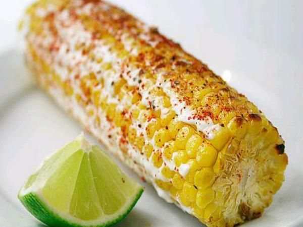 Mexican Grilled Corn | Memorial Day Recipes | Pinterest