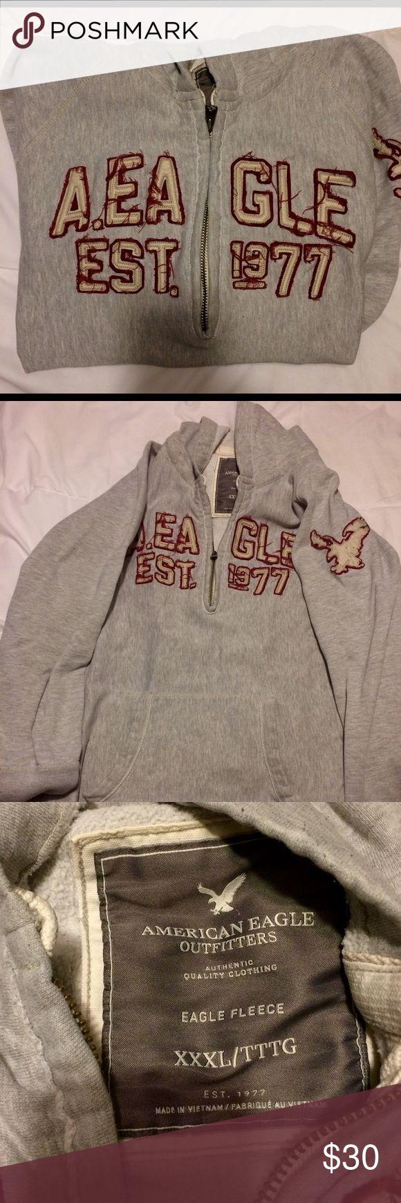 Men's American Eagle 3x hoodie Men's 3x half zip hoodie. American Eagle Outfitters Shirts Sweatshirts & Hoodies