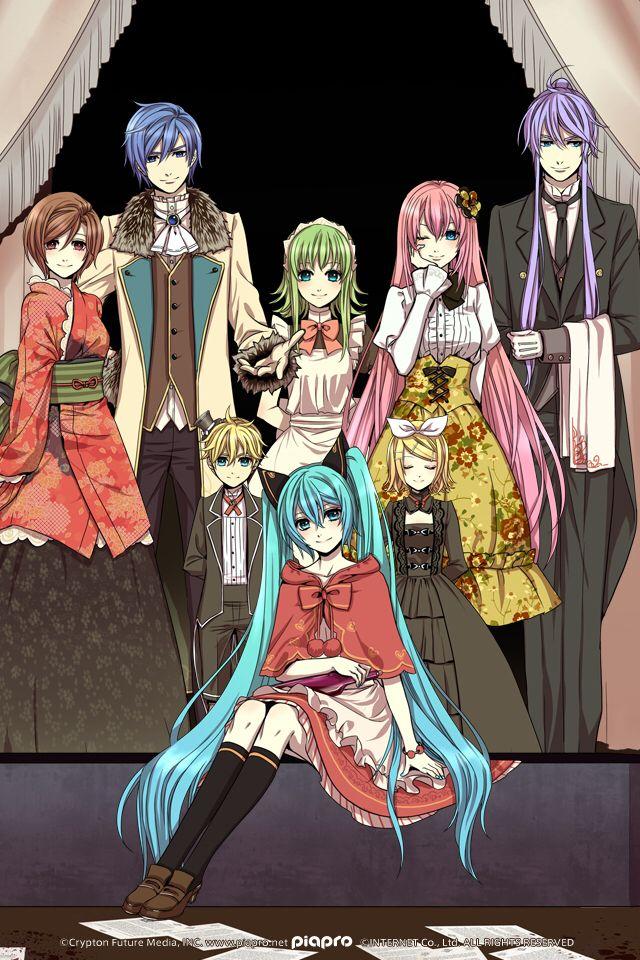 Artist: Suzunosuke | Vocaloid | GUMI | Hatsune Miku ...