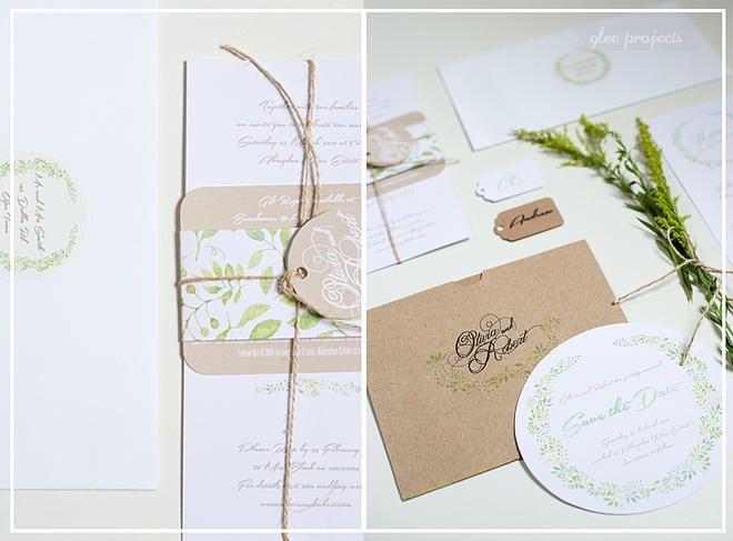 Glee Projects Wedding Invitations, Custom Statione Durban South Africa | WEDDINGS