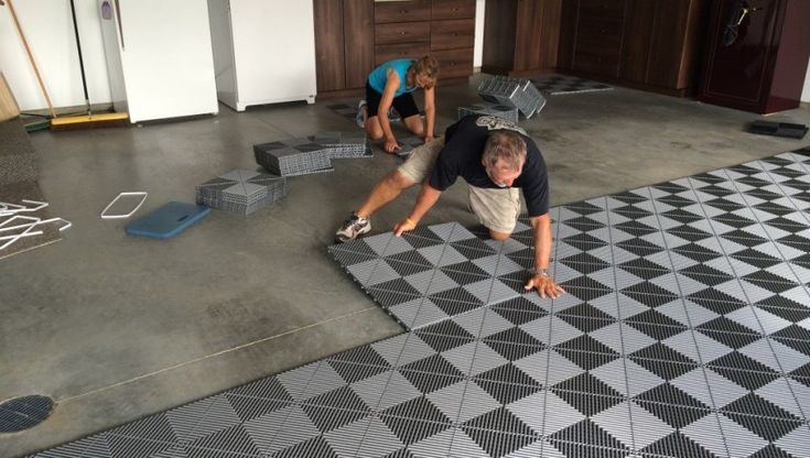 Garage Flooring Options | See more ideas about Epoxy garage floor paint, Best garage floor paint and Epoxy garage ...