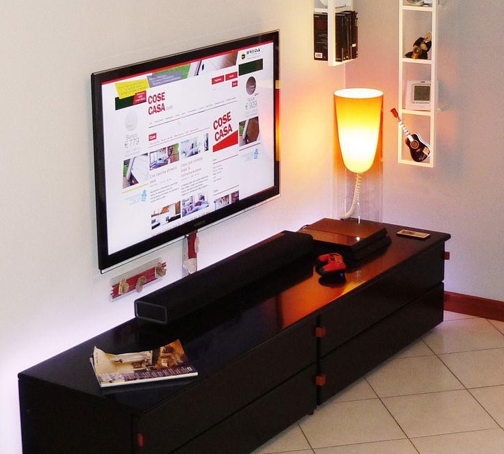 Oltre 20 migliori idee su nascondere tv su pinterest for Ikea coprifili