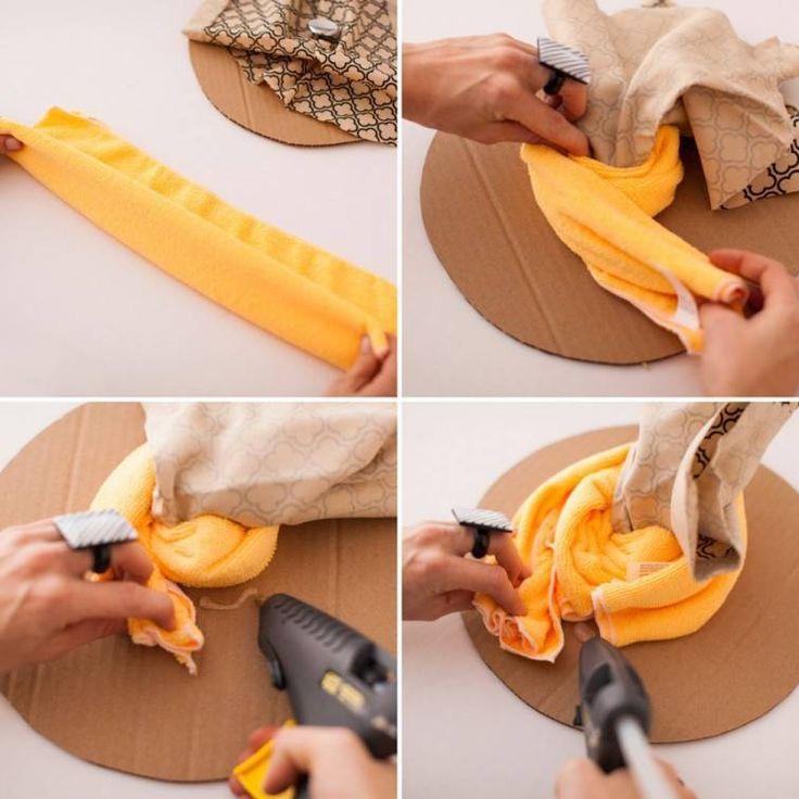 Cómo hacer un puff con un tacho de pintura paso a paso