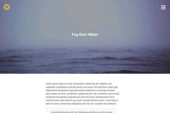Check out Pano - Responsive WordPress Theme by Tink Tank on Creative Market